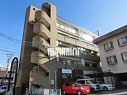 愛知県春日井市高蔵寺町4丁目の賃貸マンションの外観
