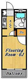 ディアコート2号館[3階]の間取り