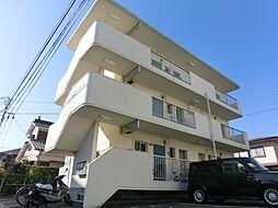 江南コーポA[2階]の外観