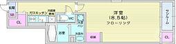 JR仙石線 榴ヶ岡駅 徒歩16分の賃貸アパート 1階1Kの間取り