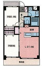 セラ・ステージ新横浜[104号室号室]の間取り