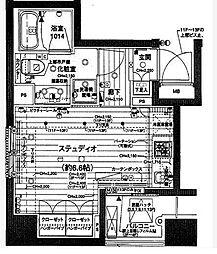 グラーサ本郷東大前[11階]の間取り
