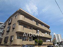 千葉県松戸市根本の賃貸マンションの外観