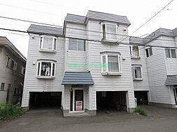 北海道札幌市東区北二十七条東12の賃貸アパートの外観