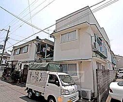 京都府京都市北区紫竹西栗栖町の賃貸アパートの外観