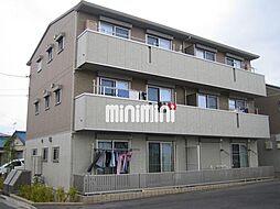 愛知県豊橋市牧野町字北原の賃貸アパートの外観