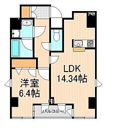 モンパレ入谷[8階]の間取り