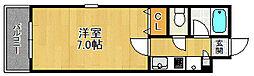 K'S室見駅アヴェニュー[6階]の間取り