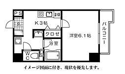 メゾン富士見--[703号室]の間取り
