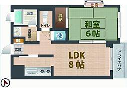 東京都杉並区桃井2丁目の賃貸マンションの間取り