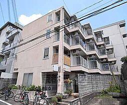 京都府京都市北区北野下白梅町の賃貸アパートの外観