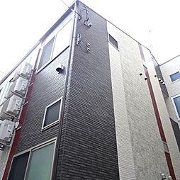 東京都文京区水道2丁目の賃貸アパートの外観