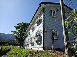 長野県伊那市西箕輪の賃貸アパートの外観