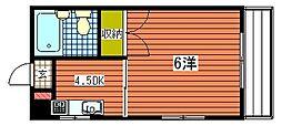 メゾン東雲I[2階]の間取り