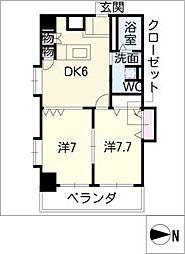 TRUSTY千代田[6階]の間取り