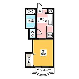 エクセレント箱崎ビル[2階]の間取り