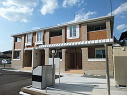 岡山県総社市総社3の賃貸アパートの外観