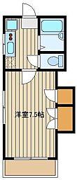 リバティーハウス[1階]の間取り