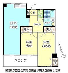 第5大成ビル[8階]の間取り