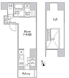 カナルフロント芝浦[3階]の間取り