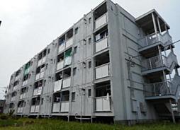 ビレッジハウス勝田4号棟[305号室]の外観