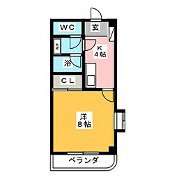 プレミールマンション[3階]の間取り