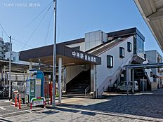 青梅線「中神」駅 距離1880m