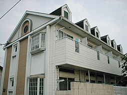 兵庫県明石市魚住町錦が丘2丁目の賃貸アパートの外観