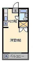 メゾン・ラック[2階]の間取り