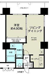 ノルデンタワー新大阪プレミアム[11階]の間取り