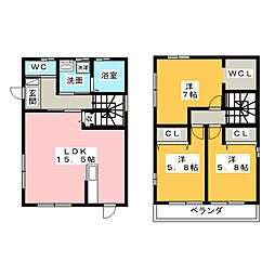 リースホーム天カ須賀4丁目 D棟