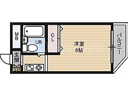 DO野江内代[2階]の間取り