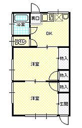 第二高橋アパート[0101号室]の間取り