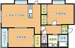 K−T・M・JBLD[7階]の間取り