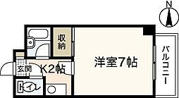 広島県広島市安佐南区伴東4丁目の賃貸マンションの間取り