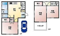 [一戸建] 埼玉県春日部市緑町1丁目 の賃貸【/】の外観
