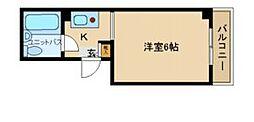 兵庫県尼崎市杭瀬本町1丁目の賃貸マンションの間取り