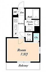仮) 海楽2丁目D-ROOM計画[2階]の間取り