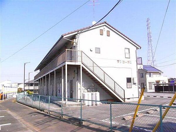 サンコーポII 2階の賃貸【茨城県 / 稲敷郡阿見町】