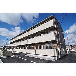 福島県郡山市喜久田町の賃貸アパートの外観