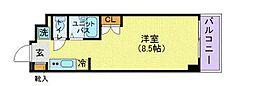 KICS湘南[322号室]の間取り