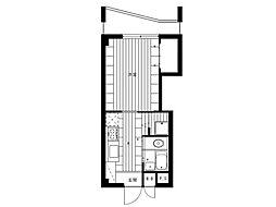 OCTO玉川[2階]の間取り