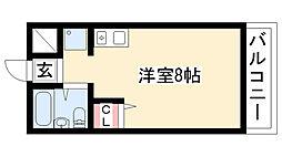 三松ハイツ[302号室]の間取り