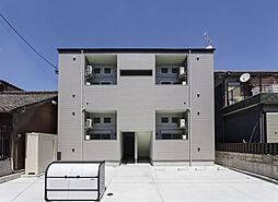 愛知県名古屋市南区三吉町4丁目の賃貸アパートの外観