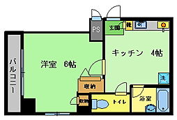 A-1ビル[2階]の間取り