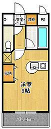 パラシオ北夙川[303号室]の間取り