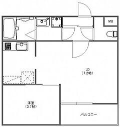 FUJISTA所沢VII[3階]の間取り