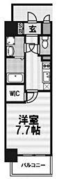 エスリード大阪グランゲート[4階]の間取り
