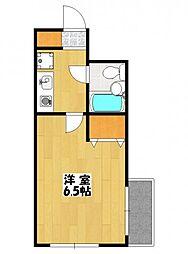 LOFTY2[3階]の間取り