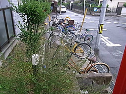 プレアール昭和台の駐輪スペース